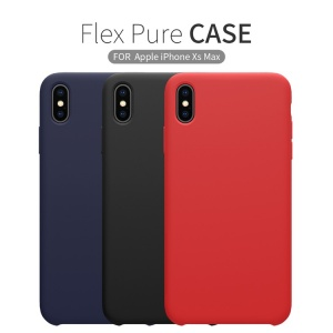 Ốp lưng Nillkin Flex màu trơn iPhone Xs Max